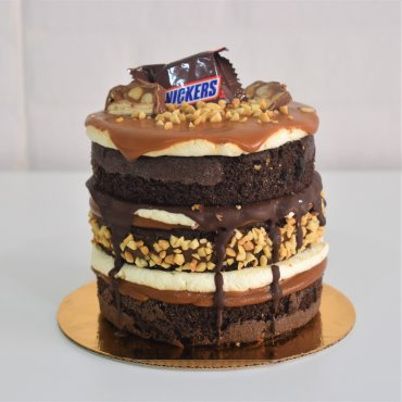 Mini Torta De Snickers
