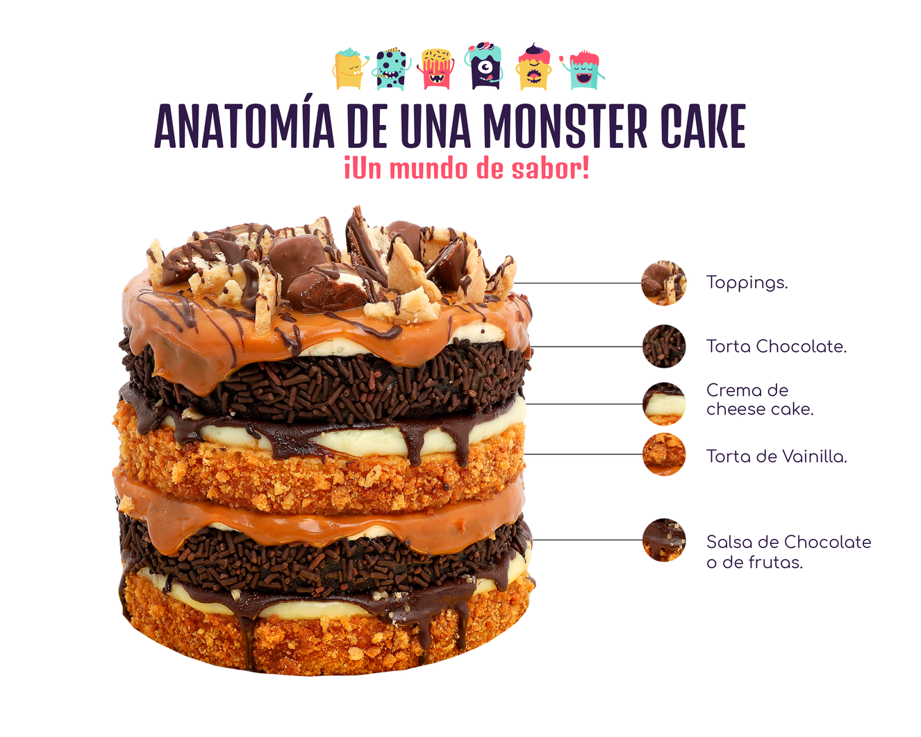 anatomia monstercakes