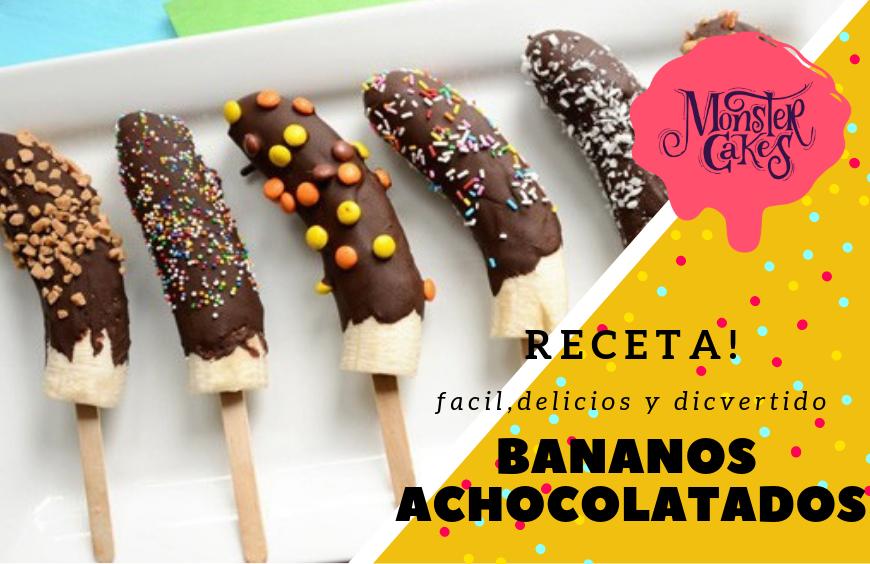 Receta: Bananos Achocolatados
